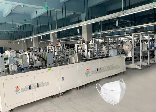 Yicheng Face Mask Machines Support to Fight Against the COVID-19
