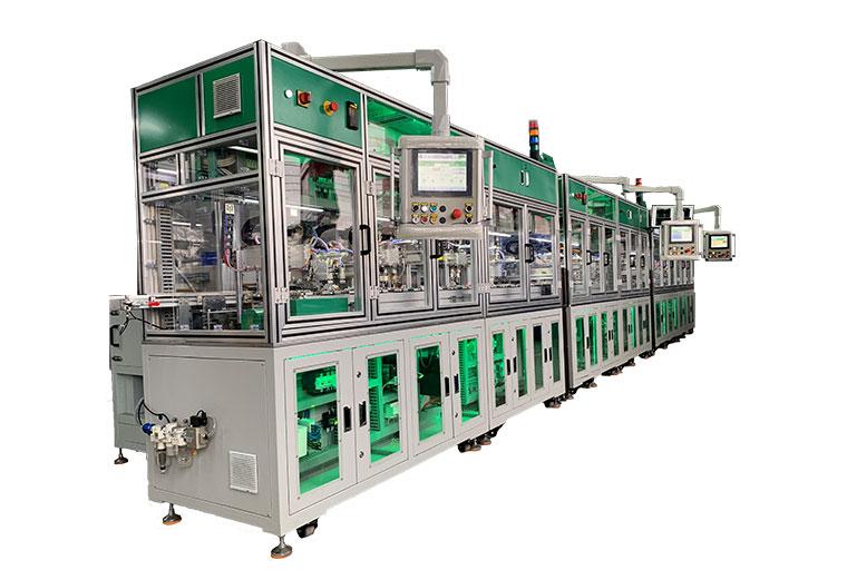 Schneider MCB Automatic Assembly Machine