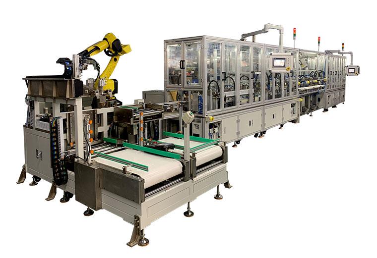 Siemens MCB Automatic Assembly Machine